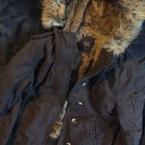 Super fuzzy old navy winter coat